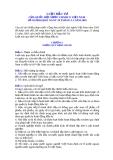 VĂN BẢN LUẬT ĐẦU TƯ  59/2005/QH11