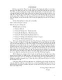 Bài tập đại số sơ cấp - Chương 1