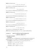 Đại số sơ cấp - Phương trình, bất phương trình vô tỉ