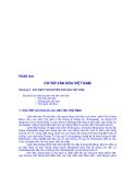 ĐỀ CƯƠNG BÀI GIẢNG CƠ SỞ VĂN HÓA VIỆT NAM - Chương 2