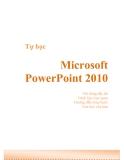 Tự học Microsoft power point 2010 phần 1