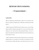 BỆNH DO TRYPANOSOMA ( Trypanosomiasis )