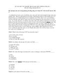 ĐỀ KIỂM TRA HỌC KỲ II NĂM HỌC 2011 MÔN : TIẾNG ANH LỚP 12 ( Mã đề thi 621)