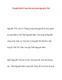 Thuyết Minh Cuộc đời nhà thơ Nguyễn Trãi