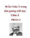 Bí ẩn Châu Á trong tấm gương triết học Châu Á PHẦN 2