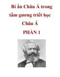 Bí ẩn Châu Á trong tấm gương triết học Châu Á PHẦN 1
