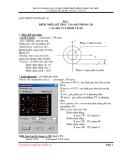Bài 1: Điểm nhìn, hệ trục tọa độ trong 3D cao độ của hình vẽ 2D