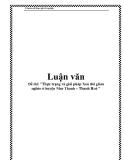 """Đề tài: """"Thực trạng và giải pháp Xoá đói giảm nghèo ở huyện Như Thanh – Thanh Hoá """""""