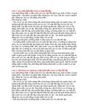 Câu 1: Quy luật giửa đấu tranh và mặt đối lập