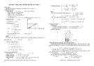 Ứng dụng số phức để giải toán vật lý