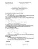ĐỀ THI KẾT THÚC HỌC PHẦN TRÍ TUỆ NHÂN TẠO - ĐỀ SỐ 7