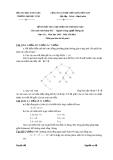 ĐỀ THI KẾT THÚC HỌC PHẦN TRÍ TUỆ NHÂN TẠO - ĐỀ SỐ 6