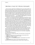 Giáo trình -công nghệ di truyền - chương 4