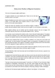 Links Weather to Migraine