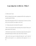 Loạn nhịp tim và điều trị - Phần 3