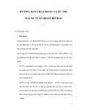 CÁC HƯỚNG DẪN CHẨN ĐOÁN VÀ XỬ TRÍ NGƯNG TUẦN HOÀN HÔ HẤP