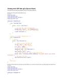 Chương trình UDP đơn giản