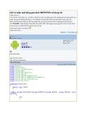 Gửi và nhận mail bằng giao thức SMTP/POP3 sử dụng C#