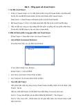 Bài 2 - Tổng quan về visual foxpro