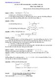 Đề thi thử toán - 2011