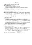 ĐỀ ÔN THI ĐẠI HỌC MÔN TOÁN - ĐỀ SỐ 11