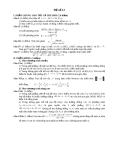 ĐỀ ÔN THI ĐẠI HỌC MÔN TOÁN - ĐỀ SỐ 12