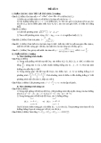 Đề thi thử toán - số 21  năm 2011