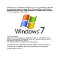 Tối ưu hóa Windows 7