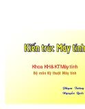 Bộ môn Kỹ thuật Máy tính chương 5: số câu lệnh - Phạm Tường - Nguyễn Quốc  Hải Tuấn