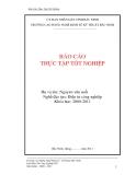 Báo cáo thực tập trường cao đẳng nghề kinh tế kĩ thuật bắc ninh 2009-2011