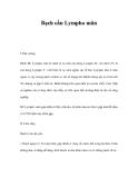 Tài liệu Bạch cầu Lympho mãn