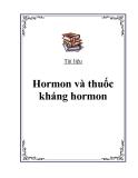 Đại cương Hormon và thuốc kháng hormon
