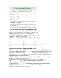 Đề thi học sinh giỏi Tiếng Anh 9 Quận Ba Đìn Năm học2004 Môn thi  Anh văn 120 phút