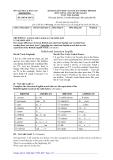 Đề thi tuyển sinh vào lớp 10 môn Tiếng Anh tỉnh Khánh Hòa năm 2010 - 2011
