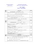 Đề thi  học sinh giỏi môn Toán  12 năm 2008 - Sở GD&ĐT Thừa THiên Huế