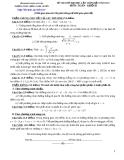 Đề tự ôn thi đại học môn toán - Đề số 18