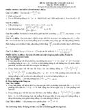 Đề tự ôn thi đại học môn toán - Đề số 20