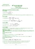 Đề tự ôn thi đại học môn toán - Đề số 22