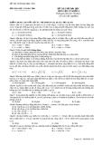 Đề thi thử đại học môn vật lý năm 2011 - Đề số 2