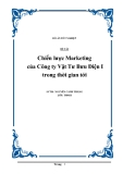 Đề tài: Chiến lược Marketing của Công ty Vật Tư Bưu Điện I trong thời gian tới