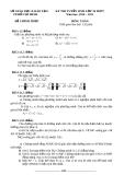 Đề thi toán và lớp 10 - 2011