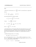 đề thi đại học môn hóa đề số 4 và đáp án năm 2009