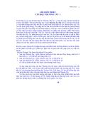 Giáo trình văn học phương tây I - Phần 1