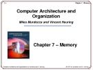 Chương 7 - Bộ nhớ