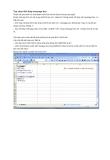 Taọ sheet kết hợp message box