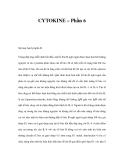 CYTOKINE – Phần 6