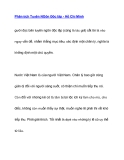 Phân tích Tuyên NGôn Độc lập - Hồ Chí Minh