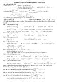 Phương trình và bất phương trình mũ