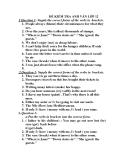 Đề kiểm tra Anh Văn 12 - Kèm Đ.án