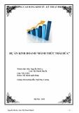 Dự án kinh doanh: Đánh lừa trái phiếu